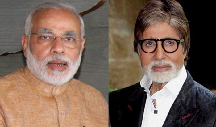 PM Modi wishes Amitabh Bachchan on his 75th birthday