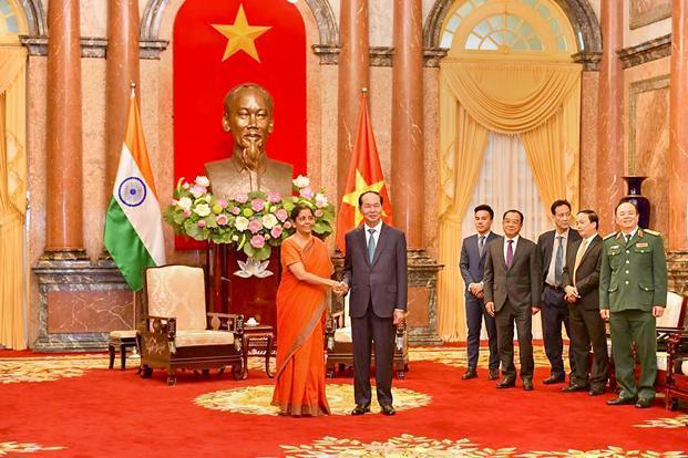 Sitharaman inaugurates 1st office of BEL in Hanoi,Vietnam