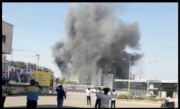 Major Fire breaks out at Serum Institute of India in Pune, No Production Loss