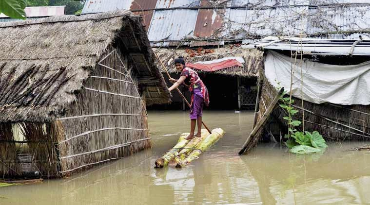 Flood situation in Assam continues to remain grim