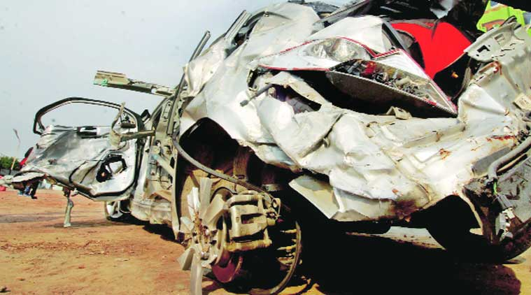 Five members of a family killed in Jhajjar road mishap