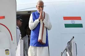 PM Modi arrives in Leh on a day-long visit