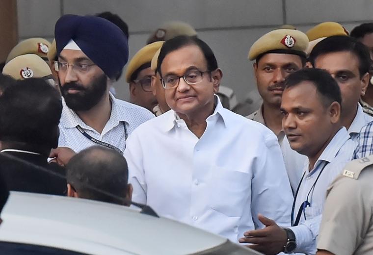 Senior Congress leaders meet Chidambaram in Tihar jail