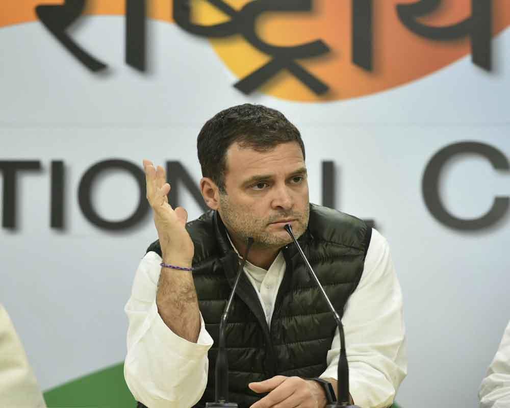 Rahul Gandhi: Jawans don