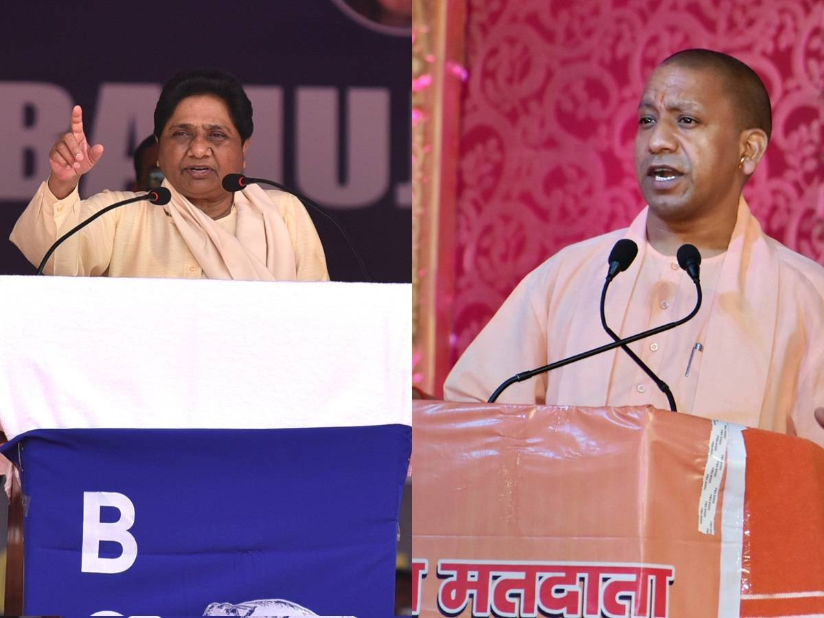 Adityanath, Mayawati censured, barred from campaigning for 72, 48 hrs respectively