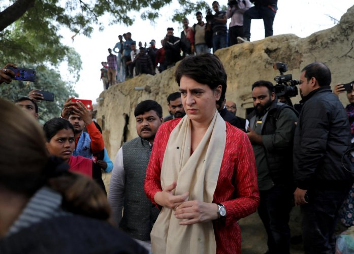 Priyanka Gandhi to lead Congress movement in UP on farmers
