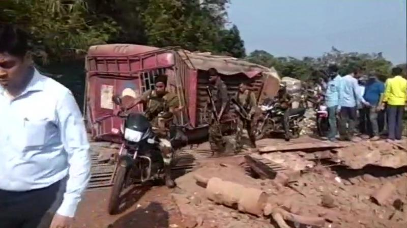 One CISF jawan and four others were killed in a Naxal attack in Chhattisgarh