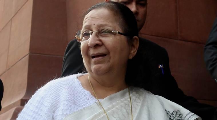 Lok Sabha Speaker Sumitra Mahajan meets parties to break logjam in Lok Sabha