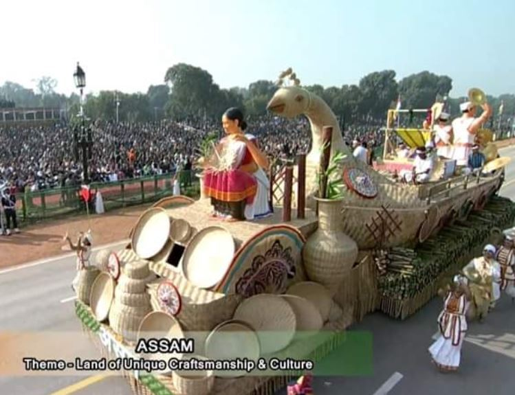 Assam tableau wins first prize at Republic Day parade