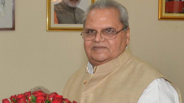 J&K headed for Prez rule but assembly not to be dissolved for now: Satyapal Malik