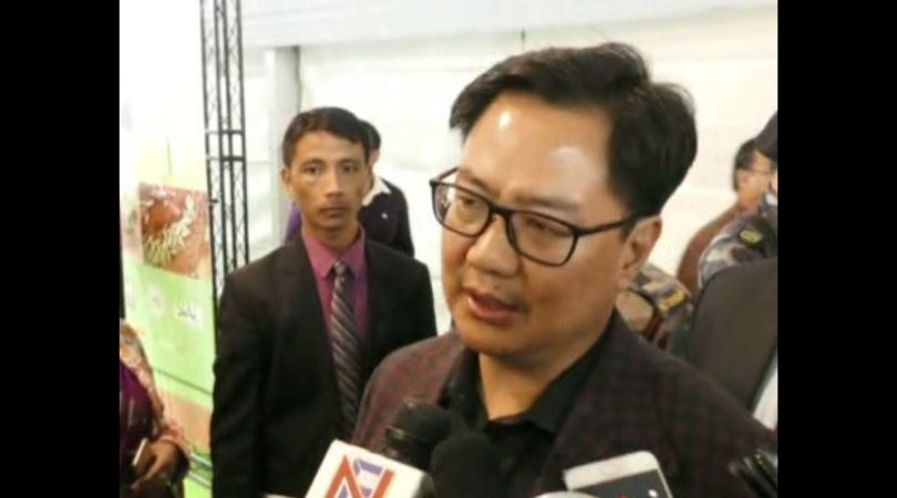 Entire northeast given protection under Citizenship (Amendment) Bill: Kiren Rijiju