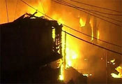 Three school buildings set afire in Kashmir