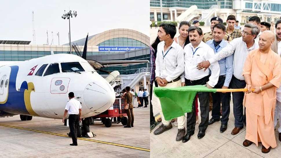 Kathmanda-Varanasi direct flight flagged off