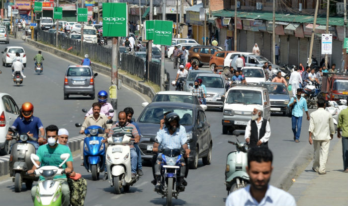 Curfew lifted from majority of areas in Kashmir
