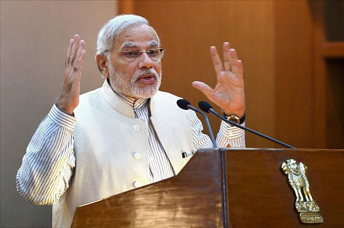 Development and confidence buiilding are key to address the problem of Kashmir: Modi