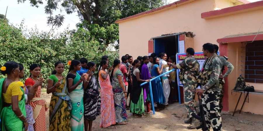 72 per cent voter turn out in the last phase of Assembly Elections in Chhattisgarh