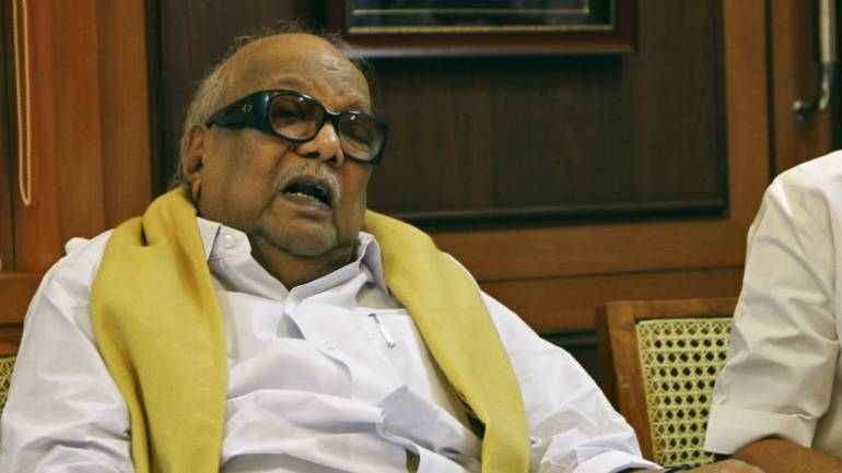 Statue of Karunanidhi to be unveiled in Chennai on Dec 16