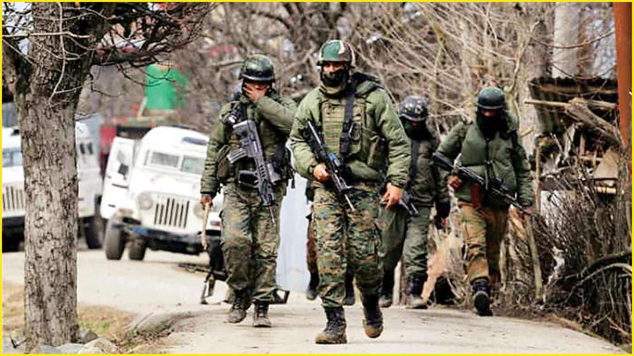 One terrorist gunned down in an encounter in Pulwama