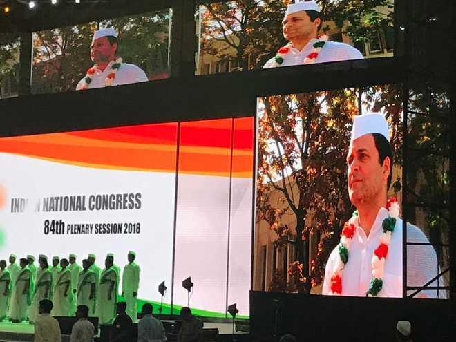 BJP spreading anger,hatred: Rahul Gandhi