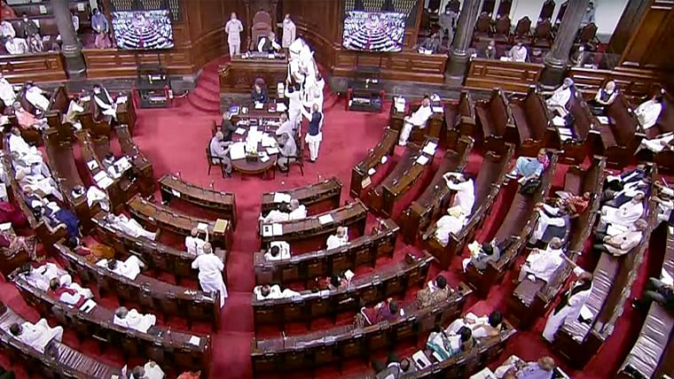 Lok Sabha, Rajya Sabha adjourned for the day amid ruckus by opposition members