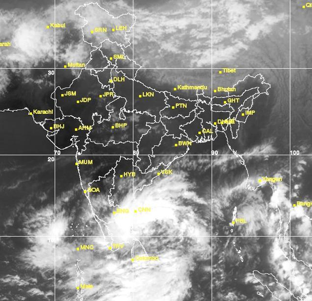 Depression over southeast Bay of Bengal likely to intensify into deep depression