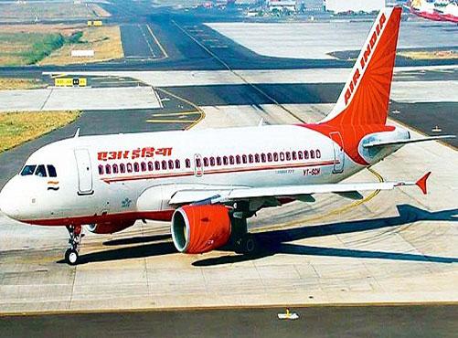 Air India flight tyre bursts while landing