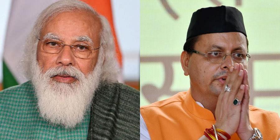 PM Modi speaks to Uttarakhand CM Dhami yesterday