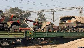 Indian Army successfully conducts trial runs of military trains