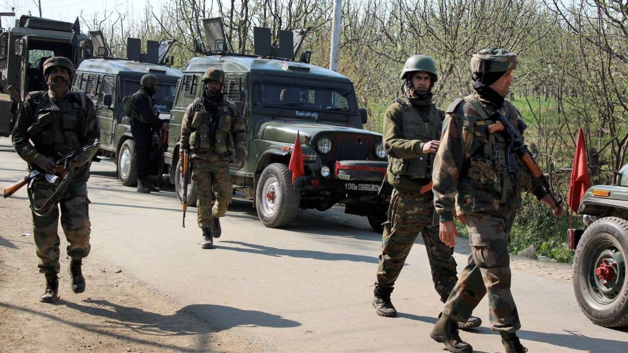 CRPF jawan injured in terrrorist attack in Pulwama dist,J&K