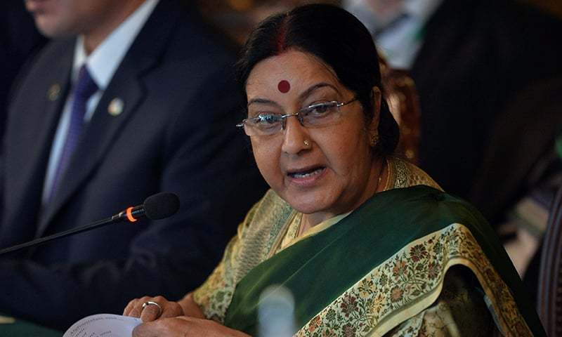 India expects non-discriminatory approach from US on H1B visa: Sushma Swaraj