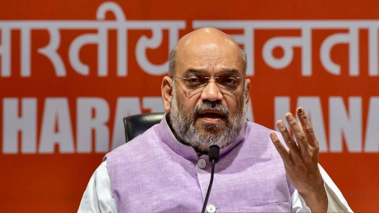 Congress responsible for J&K state of affairs: Amit Shah