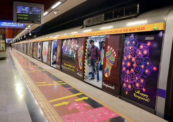 Delhi Metro services will be available till 10 PM today