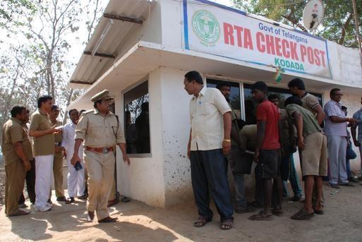 Telangana State to set up border check posts