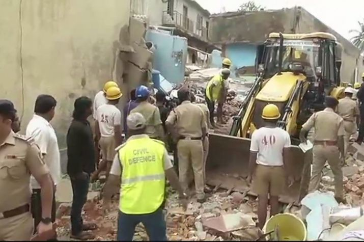 At least 6 killed in building collapse in Bengaluru