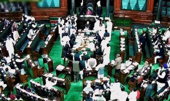 Lok Sabha adjourns amid noisy protests