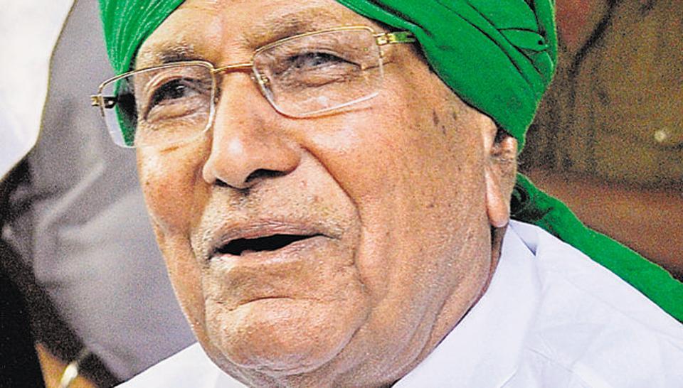ED attaches properties of Om Prakash Chautala in DA case
