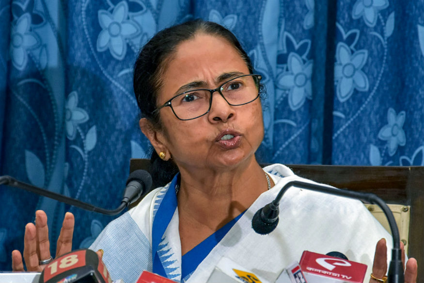 TMC will strongly oppose bill to bifurcate J&K: Mamata Banerjee
