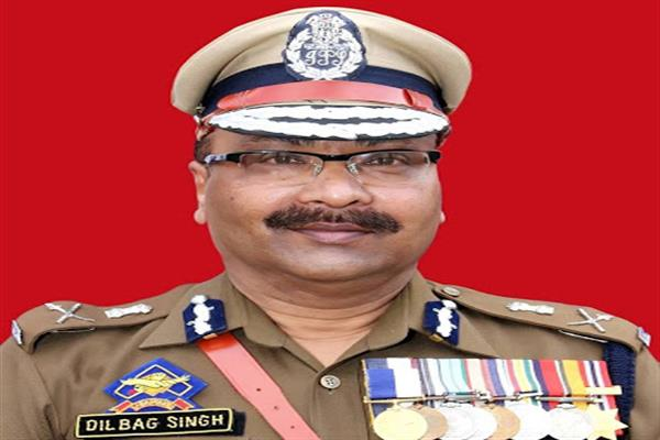 Dilbagh Singh appoints as Director General of State Police,Jammu & Kashmir
