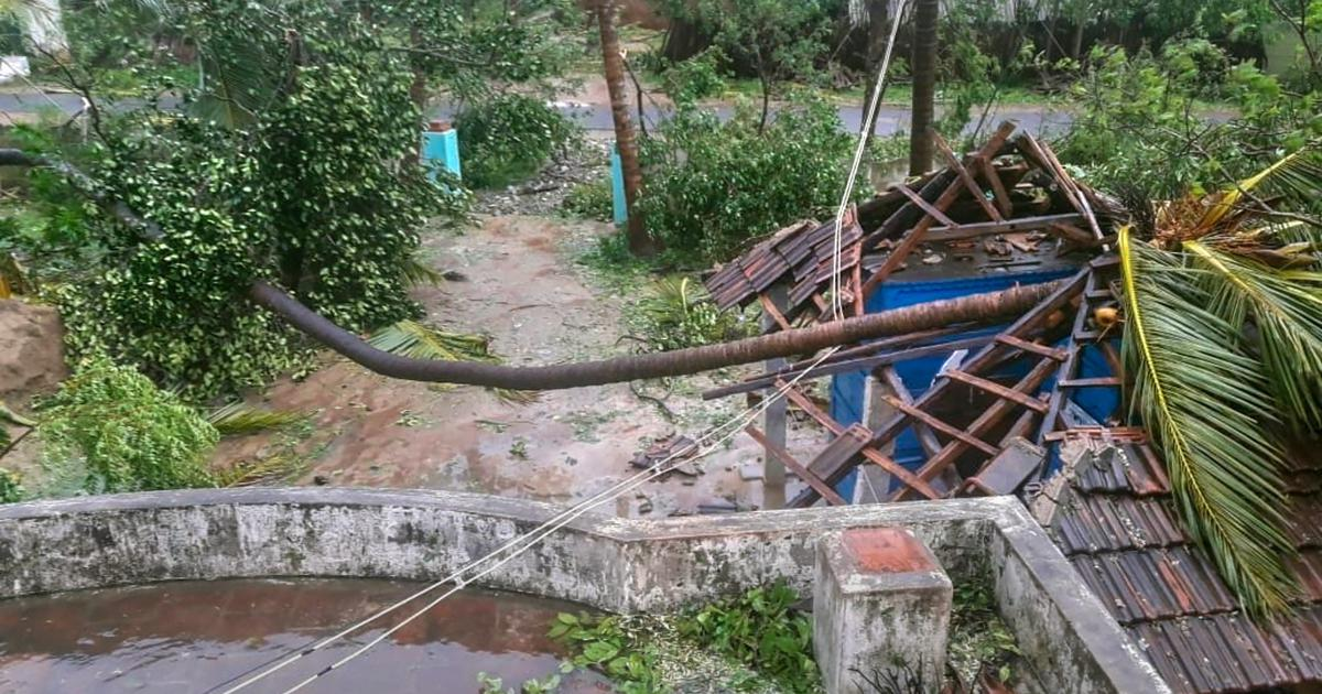 Cyclone Gaja: Death toll rises to 13, relief operations on war-footing