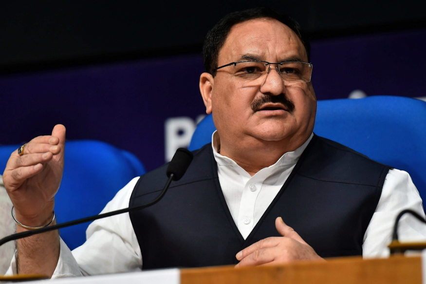 J P Nadda hits out at Congress for not supporting abrogation of Article 370 in Jammu and Kashmir