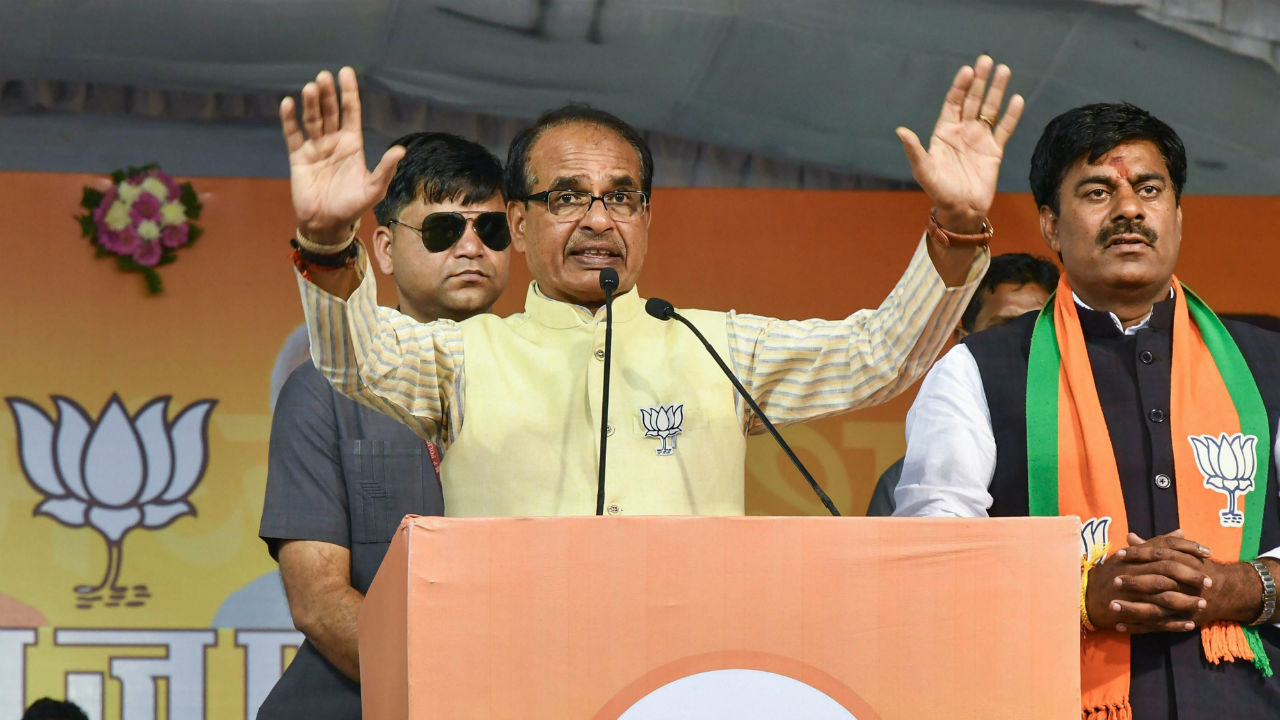 Shivraj Singh writes letter to EC, complains about Chhindwara collector