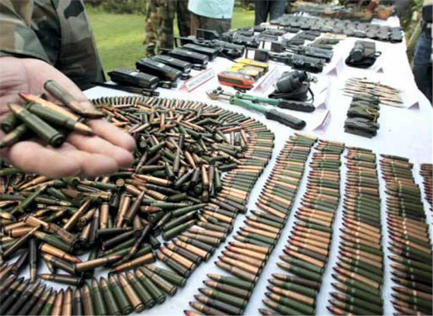 Arms, ammunition seized in anti-Naxal operation in Jharkhand