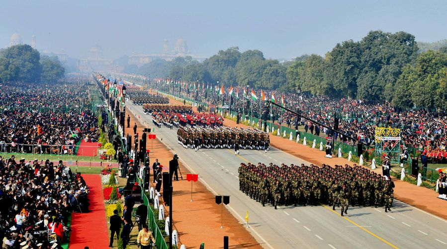 India celebrates 71st Republic Day