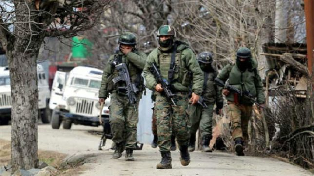 Security forces gun down three terrorists in Kulgam