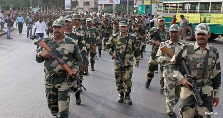 10 companies of Border Security Force to be deployed in West Bengal