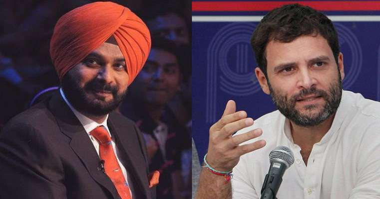 Rahul Gandhi should apologize, sack Navjot Sidhu for his anti-south remarks: BJP
