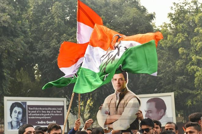 Congress workers reject exit polls, say results will be different