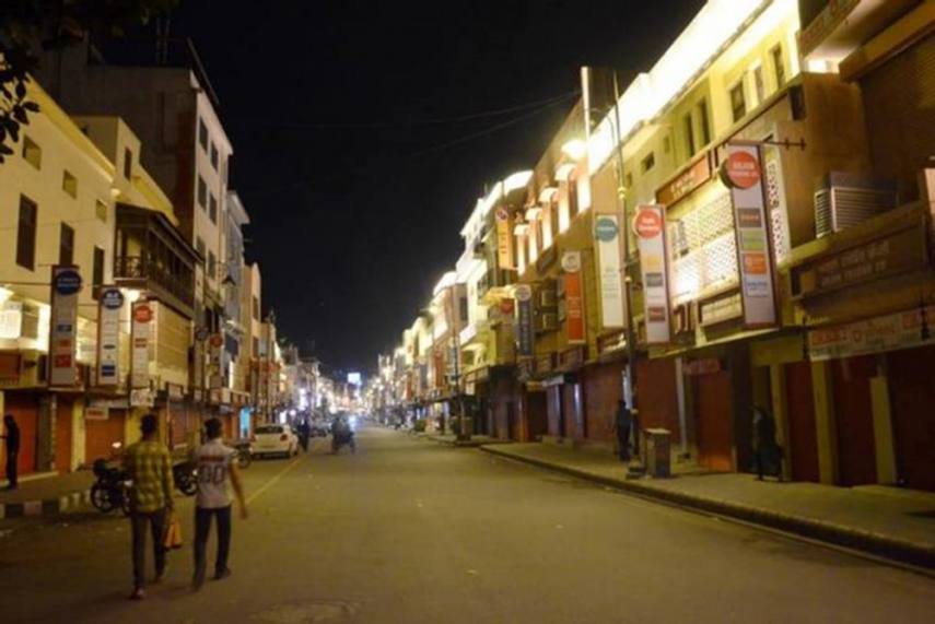 Night curfew for two weeks begins from today in Kerala