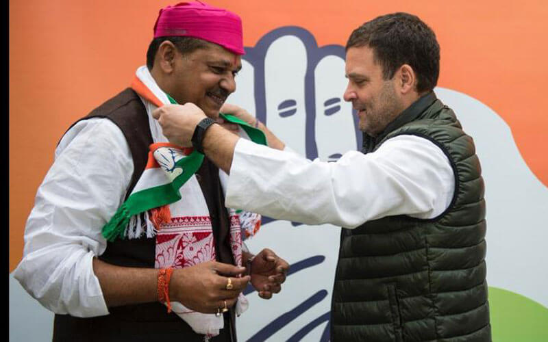 Suspended BJP MP Kirti Azad joins Congress