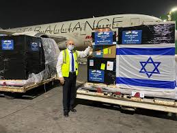 First consignment of oxygen concentrators arrives from Israel